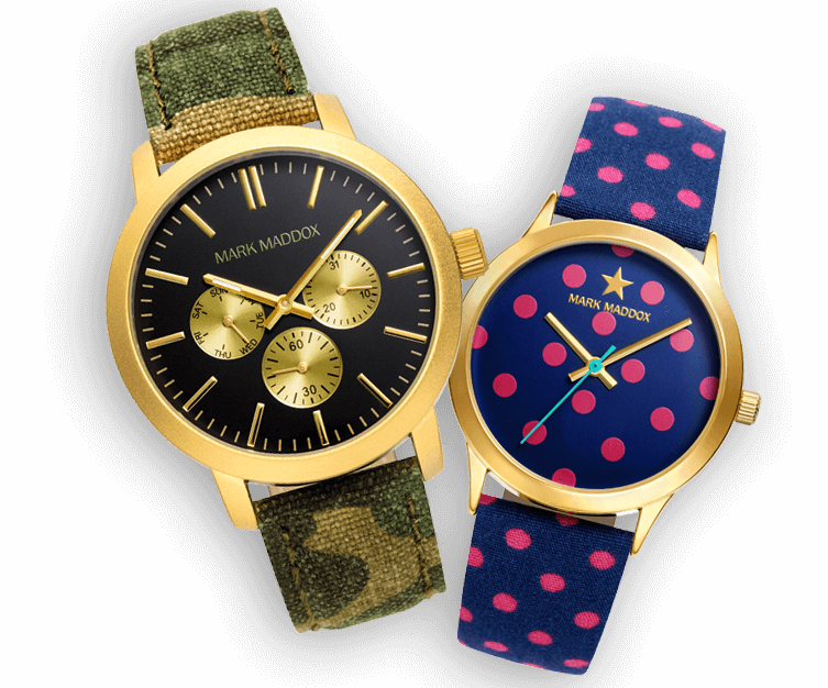 c8a584eb8def Mega Colección de relojes Mark Maddox a precio de chollo - GoChollos