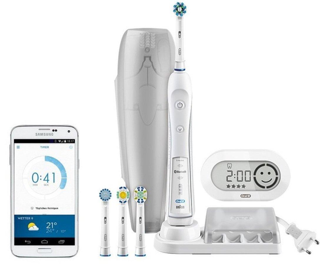 Oral-B White 6000 CrossAction - Cepillo de dientes eléctrico ... d0f51ec81cd4