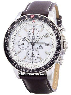 98748a189c04 Seiko SSC013P1 reloj cronógrafo caballero cuarzo por 179
