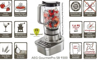 Batidora AEG Gourmetpro SB 9300