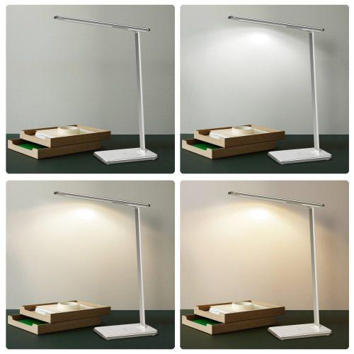 LT € T7 escritoriocolor por Lámpara 33 blanco 99 Aukey Yybfgv67