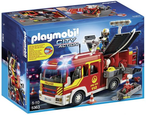 Playmobil Bomberos camión