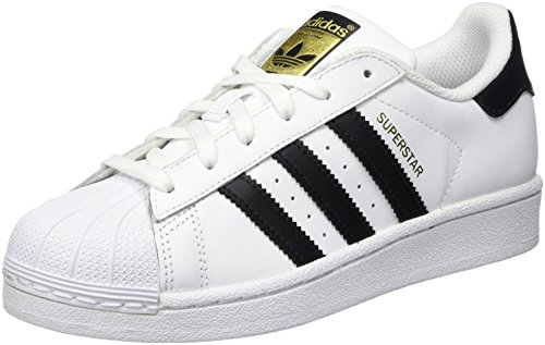 finest selection 97db4 d63a6 adidas Originals Superstar, Zapatillas Unisex Niños, Blanco (Ftwr  White Core Black