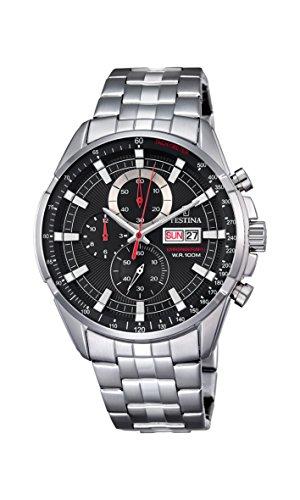 5c4597d93d7d Festina Reloj Analógico para Hombre de Cuarzo con Correa en Acero  Inoxidable F6844 4