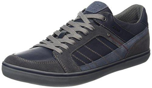 Geox U Wells a, Zapatillas para Hombre, Negro (Black), 39 EU