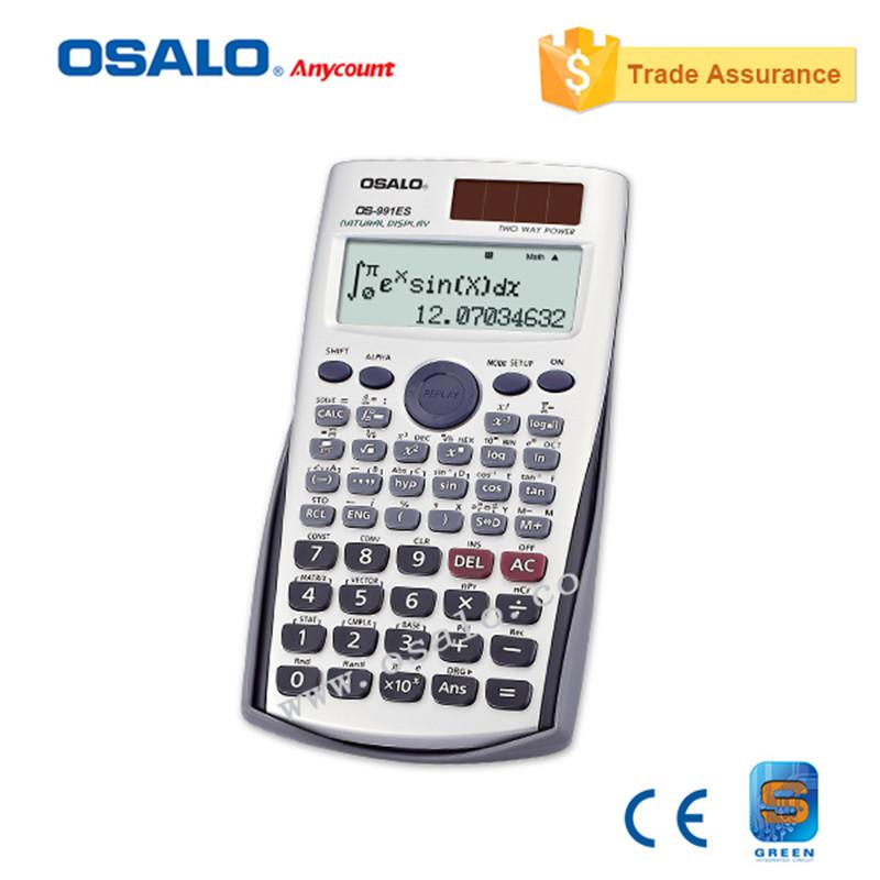 15a75e7160a6 OS-991 Plus Calculadora Científica Calculadora de Doble Poder Cientifica con  Idiomas Especificación Como Office