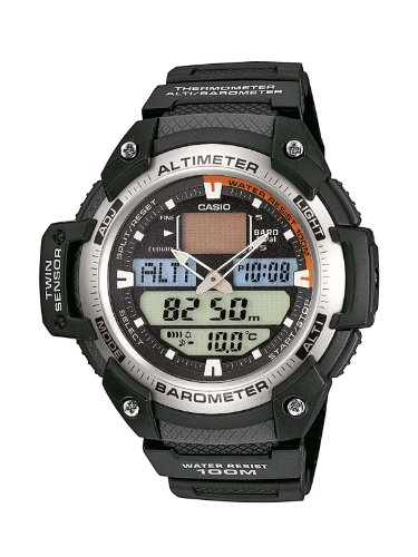f9bc98d23bb4 Casio Collection Reloj Hombre Analógico Digital correa resina SGW-400H por  55