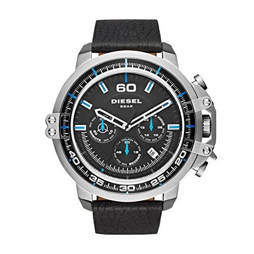 d6833107fecc Diesel Deadeye reloj análogico cuarzo con correa de cuero unisex por 88 €