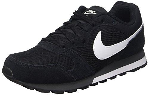 innovative design adff2 93b5c Nike Md Runner 2, Zapatillas de Running Hombre, Negro Blanco Gris (