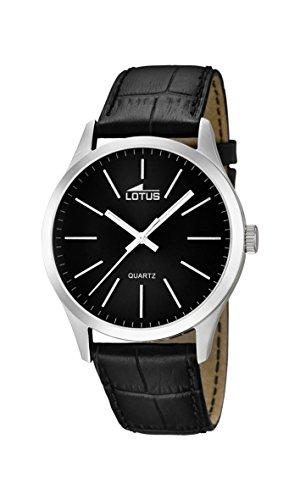 adcc3e3dc53b Lotus Reloj Analógico para Hombre de Cuarzo con Correa en Cuero 15961 3